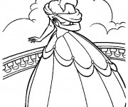 Coloriage Princesse La belle