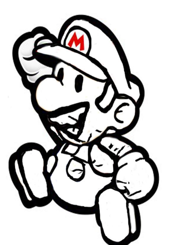 Coloriage Mario Dessin En Couleur Dessin Gratuit à Imprimer