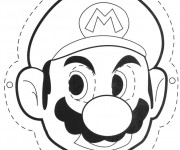 Coloriage Photos de Mario