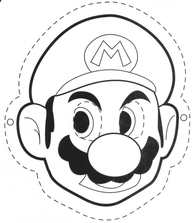 Coloriage et dessins gratuits Photos de Mario à imprimer
