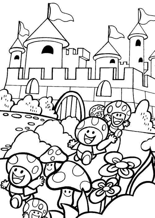 Coloriage et dessins gratuits Toad en couleur à imprimer