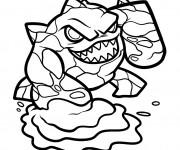 Coloriage et dessins gratuit Dessin Bowser Mario Bros à imprimer