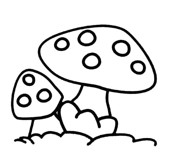 Coloriage dessin de champignon gratuit dessin gratuit imprimer - Image de dessin anime gratuit ...