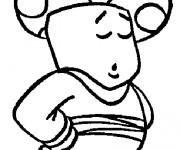 Coloriage et dessins gratuit Dessin de Toad en couleur à imprimer