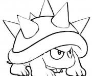 Coloriage et dessins gratuit Mario Champignon dessin gratuit en ligne à imprimer