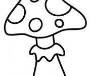 Coloriage et dessins gratuit Toad le Champignon pour enfant à imprimer