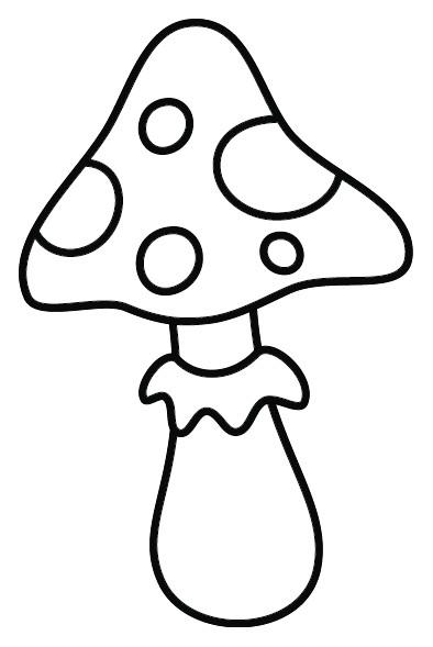 Coloriage et dessins gratuits Toad le Champignon pour enfant à imprimer
