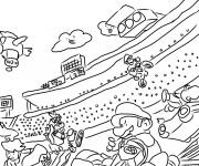 Coloriage Mario Kart 10