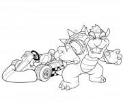 Coloriage Mario Kart 3