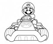 Coloriage Mario Kart 5