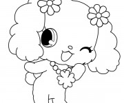 Coloriage Jewelpet 25