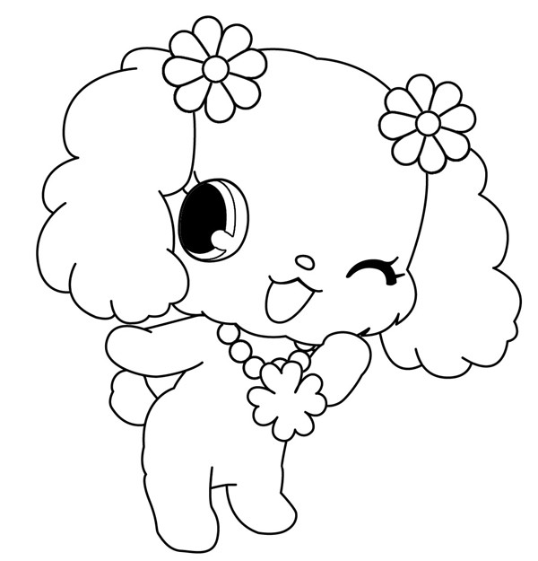 Coloriage et dessins gratuits Jewelpet 25 à imprimer