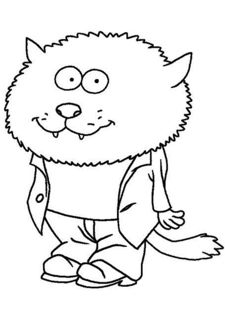 Coloriage et dessins gratuits Minijusticiers le loup à imprimer