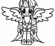 Coloriage Twilight Sparkle dans mon petit poney
