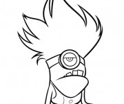 Coloriage Minion Dave 15