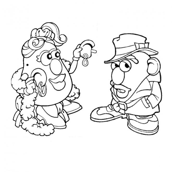 Coloriage et dessins gratuits Madame Patate 2 à imprimer
