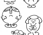 Coloriage Madame Patate 12