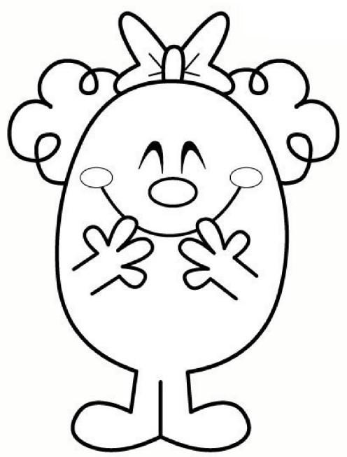 Coloriage et dessins gratuits Monsieur Chatouille 12 à imprimer