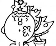Coloriage dessin  Monsieur Malchance 5