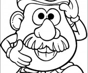 Coloriage Monsieur Patate