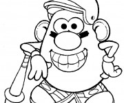 Coloriage Monsieur Patate 12