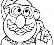 Coloriage dessin  Monsieur Patate 2