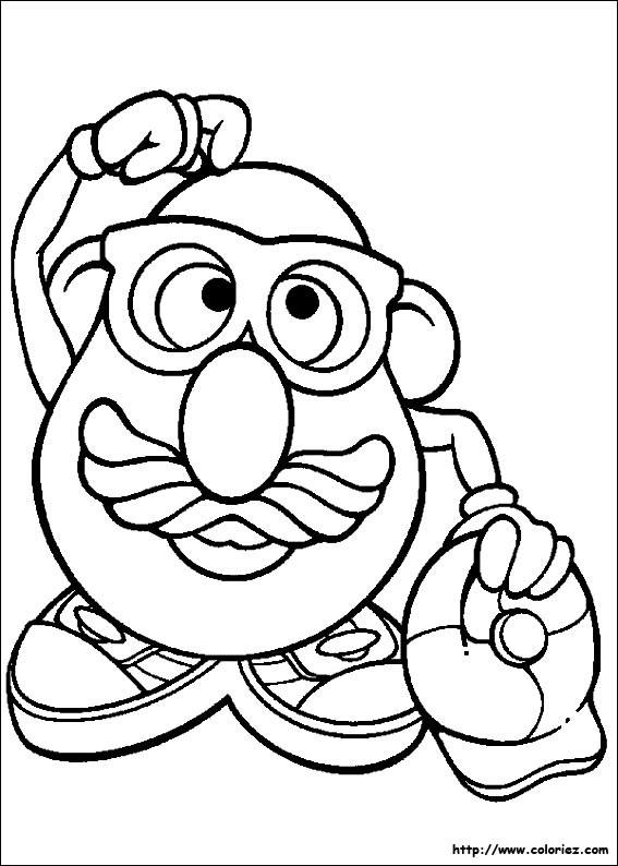 Coloriage Monsieur Patate 2 dessin gratuit à imprimer