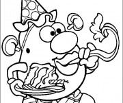 Coloriage Monsieur Patate 21