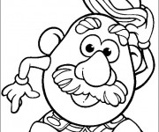 Coloriage Monsieur Patate 4