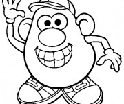 Coloriage Monsieur Patate 9