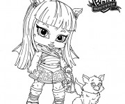 Coloriage dessin  Monster High 11