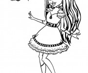 Coloriage dessin  Monster High 13