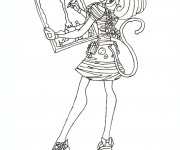 Coloriage dessin  Monster High 15