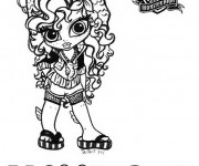 Coloriage dessin  Monster High 18