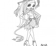 Coloriage dessin  Monster High 2