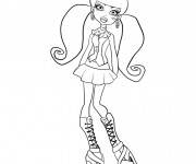 Coloriage dessin  Monster High 7
