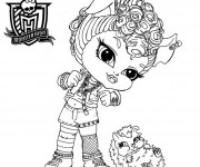 Coloriage Monster High bébé