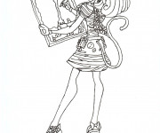 Coloriage Monster High en couleur