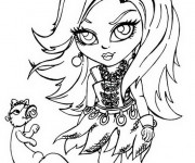 Coloriage Monster High Lagoona disney