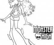 Coloriage Monster High Rochelle Goyle