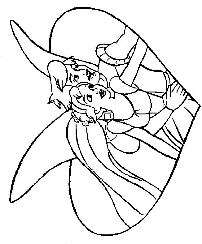 Coloriage et dessins gratuits Dessin Princesse à imprimer