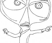Coloriage et dessins gratuit Docteur Cafard à imprimer