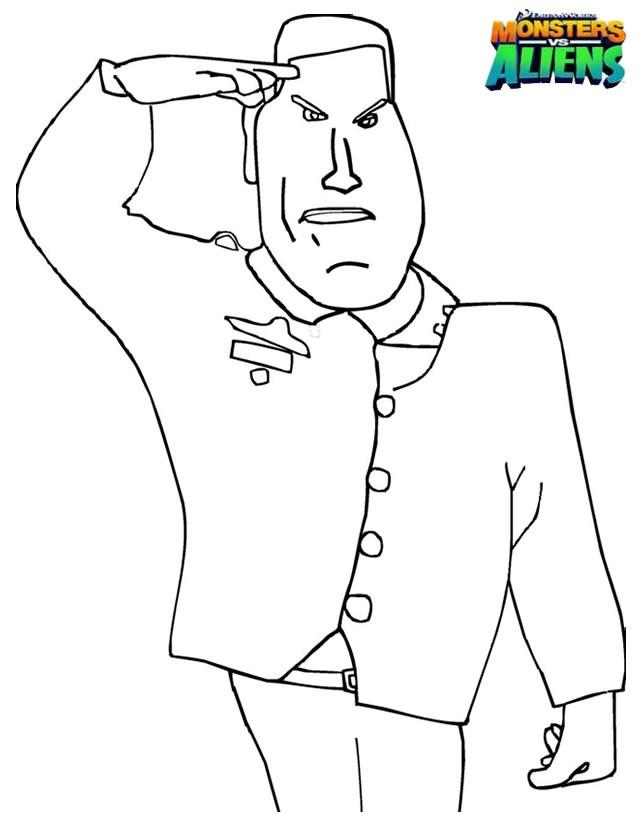 Coloriage et dessins gratuits General Monger à imprimer