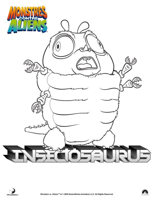 Coloriage et dessins gratuits Insectosaurus à imprimer