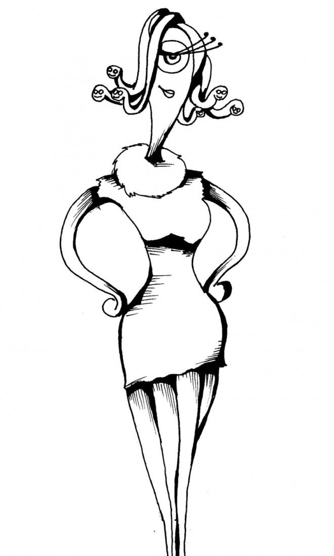 Coloriage c lia mae en ligne dessin gratuit imprimer - Dessin de monstre et compagnie ...