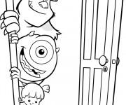 Coloriage et dessins gratuit Jacques Bob et Bouh companie à imprimer