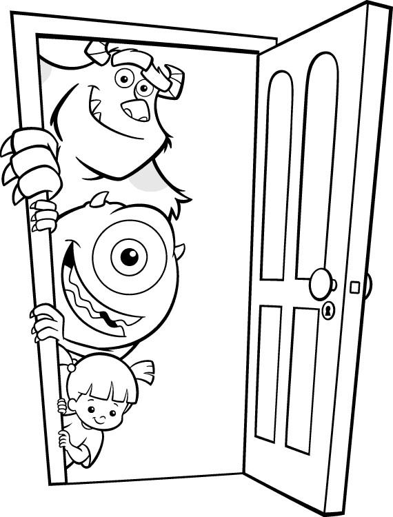 Coloriage jacques bob et bouh companie dessin gratuit imprimer - Dessin de monstre et compagnie ...