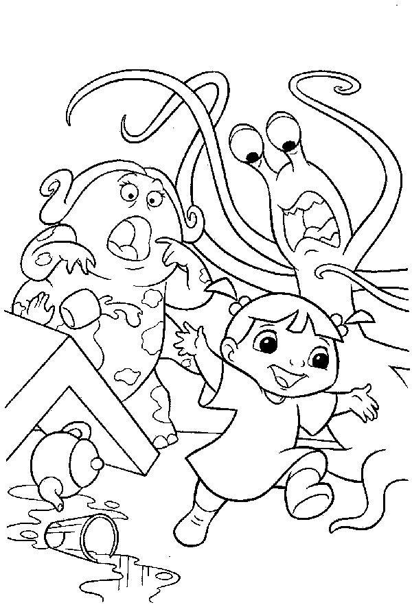 Coloriage miss nesbitt bouh dessin gratuit imprimer - Dessin de monstre et compagnie ...