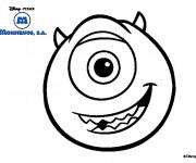Coloriage et dessins gratuit Monstre et Cie Bob dessin à imprimer