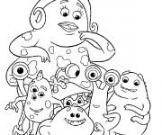 Coloriage et dessins gratuit Monstres et compagnie à télécharger à imprimer